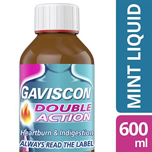Liquid Gaviscon - Gaviscon Double Action Mint Liquid 600ml