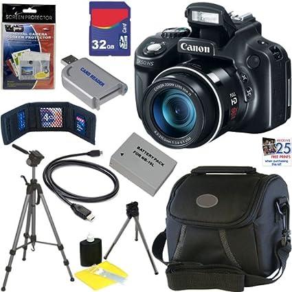amazon com canon powershot sx50 hs 12 1 mp digital camera with 50x