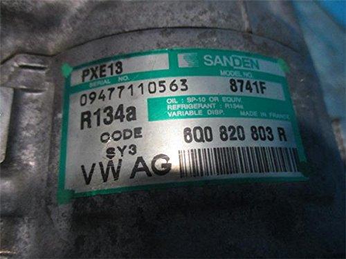 ワーゲン 純正 ポロ 9N系 《 9NBKY 》 エアコンコンプレッサー P41800-18002929