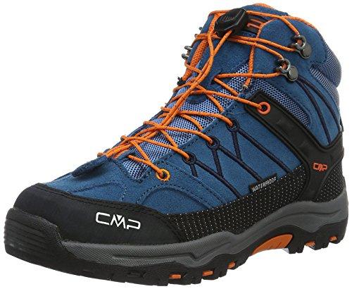 CMP Unisex-Kinder Rigel Trekking-& Wanderstiefel, Blau (Denim L580), 37 EU