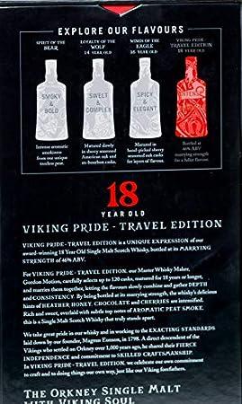 Highland Park Highland Park 18 Years Old VIKING PRIDE Travel Edition Single Malt Scotch Whisky 46% Vol. 0,7l in Giftbox - 700 ml