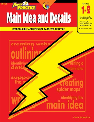 Power Practice Main Idea and Details, Gr. 1-2 (Language Power Practice)