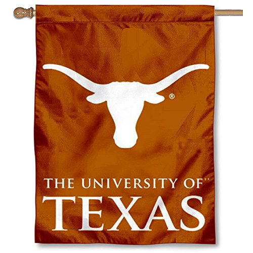 College Flags and Banners Co Texas UT Longhorns Double Sided House Flag
