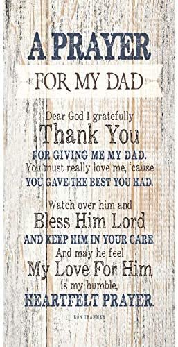 Father Wood Plaque Inspiring Quotes product image
