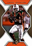 Andre Johnson football card (Miami Hurricanes) 2010 Upper Deck SPX #24
