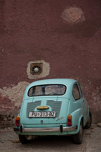 fine-art-print-of-teal-fiat-600-picture-print