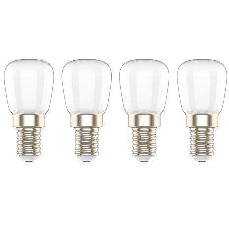 Bombilla LED E14 3W,Equivalente a 20W Bombilla,Blanco Cálido 3000K, para Frigorífico