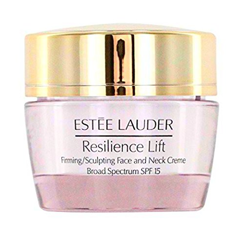 Clean Face And Neck (Estee Lauder Resilience Lift Firming / Sculpting Face and Neck Creme SPF 15 for Normal / Combination 0.5 Ounce)
