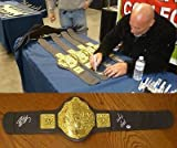 Bill Goldberg Signed WWE World Championship Toy Belt COA WCW Autograph - PSA/DNA Certified - Autographed Wrestling Robes, Trunks and Belts