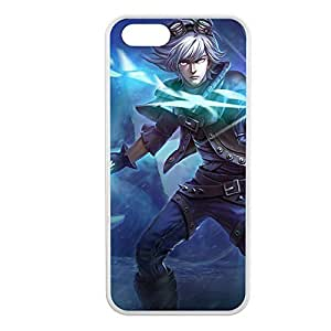 Ezreal-002 League of Legends LoL case cover for Apple iPhone 5/5S - Rubber White