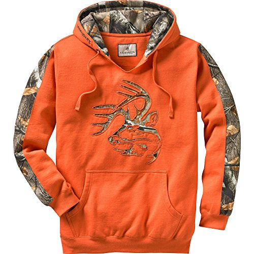 Legendary Whitetails Men's Outfitter Hoodie Burnt Orange Large
