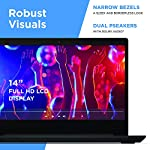 Lenovo IdeaPad 3 14″ Laptop, 14.0″ FHD 1920 x 1080 Display, AMD Ryzen 5 3500U Processor, 8GB DDR4 RAM, 256GB SSD, AMD Radeon Vega 8 Graphics, Narrow Bezel, Windows 10, 81W0003QUS, Abyss Blue