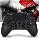PS4 Controller Wireless Remote Control - Large Size Bluetooth DS4 Gamepad,Pro Slim Dualshock4 Gaming Joystick with Micro USB,Support Playstation4,PC,Smart TVs(OUBANG MONTAIN)