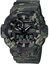 G-Shock  Mens GA700CM-3A Green/Camo One Size
