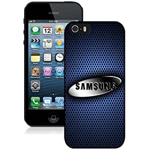 Beautiful Custom Designed Cover Case For iPhone 5s With Metal Samsung Logo Phone Case