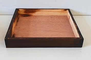 Tablett Kerzen Tablett Deko Tablett Kerzen Teller Platte Holz