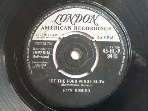 FATS DOMINO Let The Four Winds Blow / Good Hearted Man 7