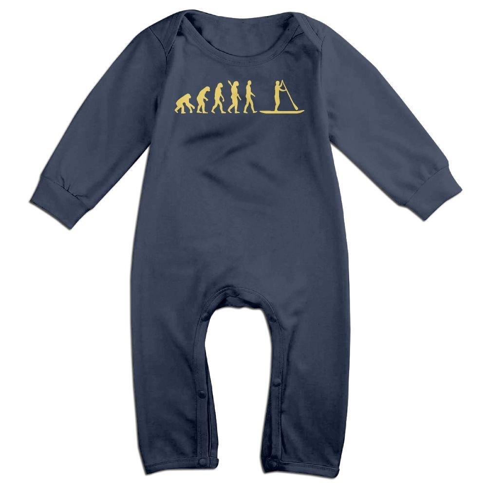 Mri-le1 Baby Boy Girl Jumpsuit Paddleboard Evolution-2 Toddler Jumpsuit
