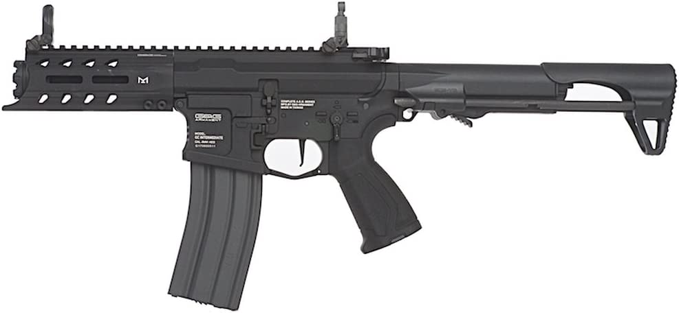 G&G ARP 556 CQB Full Metal Rifle Airsoft, Negro