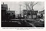 Putnam Connecticut Main Street Debris Removal Disaster Antique Postcard K73269