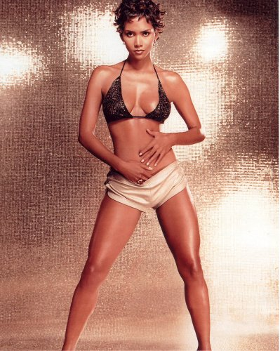 Halle Berry Poster Photo Bikini Pinup Model Girl Hollywood Photos Posters 11x14