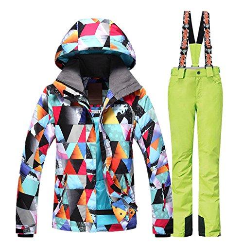 Addensare 7 B1f6207 Sci Colori Inverno Outdoor Donne Abbigliamento Warm Impermeabili Tute Tuta Snowboard Yff Da Leit wOqHz1x