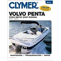 CLYMER B775 / Clymer Volvo Penta Stern Drives 2001-2004