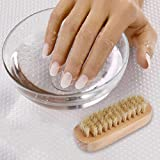 Cleaning Nail Brush Wood 2 Side for Manicure