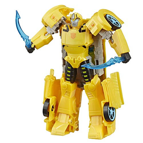 Transformers Toys Cyberverse Ultra Class Bumblebee Action Figure, Combines with Energon Armor to Power Up, for Kids Ages 6 and Up, 6.75-inch