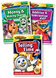 Early Math DVD Collection: Addition & Subtraction Rap, Telling Time, Money & Making Change