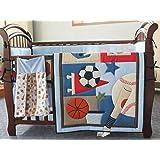 New Circo 7pieces Baby Boy Sport Crib Bedding Set with bumper