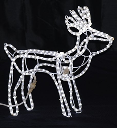 Outdoor Rope Light Reindeer in US - 3