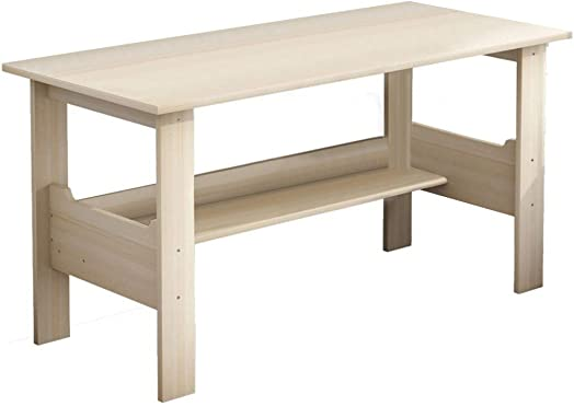 Home Office Desk 40 inch – Modern Desktop Computer Desk Gaming PC Laptop Desk Work Table,Home Bedroom Furniture-Workstation-Students Study Writing Desk Wood Table Ship from US White