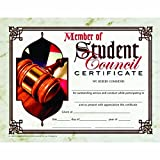 Member of Student Council Certificate - Matte Paper - Quantity 150