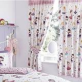 Harwood Textiles Ballerina Lined Curtains 66'x72'