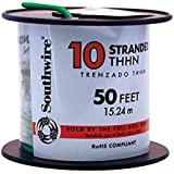 Wire 10awg Thhn-Str Green 50ft