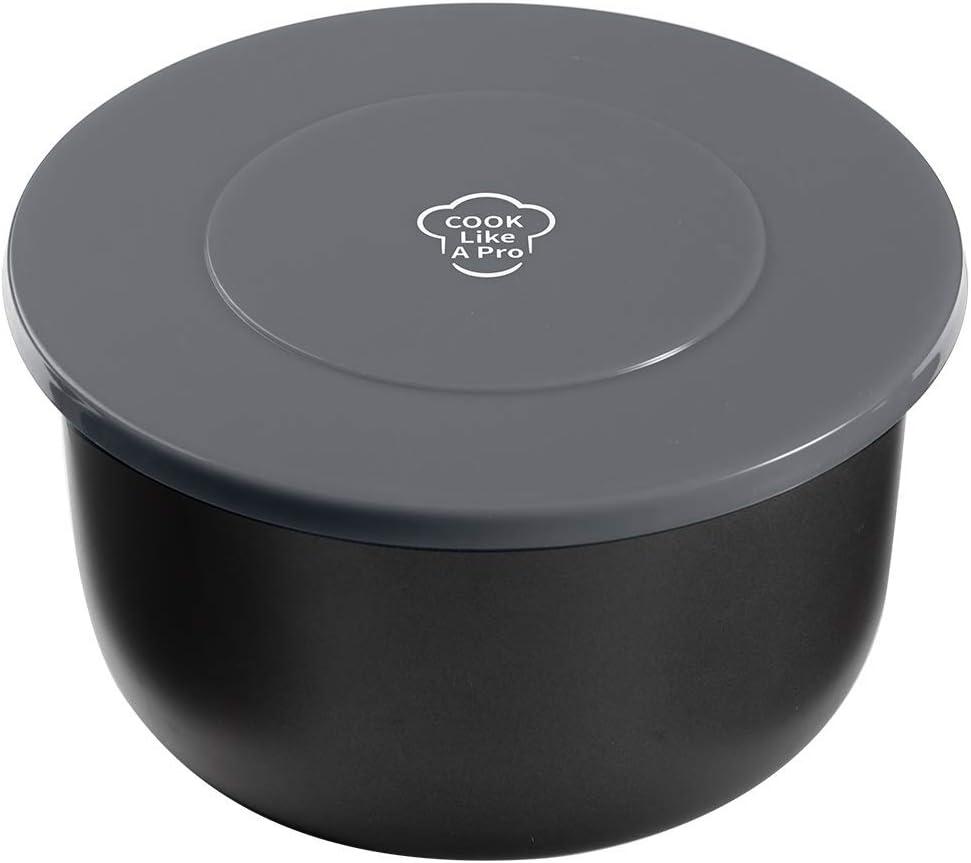 Soporte de tapa de silicona para Ninja Foodi ahorro de espacio soporte de tapa de silicona olla a presi/ón