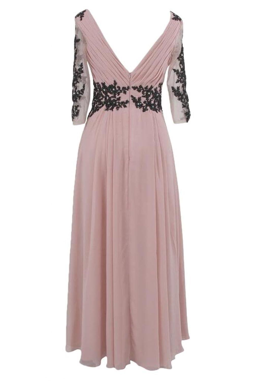 Sunvary Strapless Draped Ruffle Side Zipper Rhinestone Bridesmaid Prom Gowns-12-Champagne