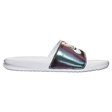 Amazoncom  Nike Womens Benassi JDI Print Sandal  Sport Sandals  Slides
