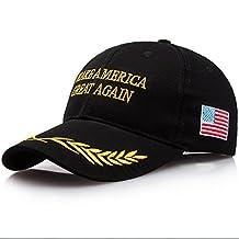CATOP American Flag Baseball Cap Unisex 2016 Campaign Cap Make America Great Again - Donald Trump Sun Visor Hats