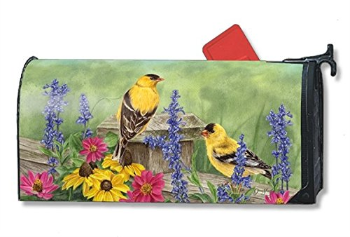 Magnet Works Golden Finches Large Mailwrap #21332