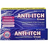 Dr. Sheffield Anti-Itch Cream with Histamine Blocker, 1.25 oz