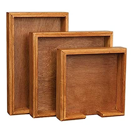 Michel Design Works Hardwood Hostess Napkin Holder, Cherry