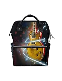 67cc0a4a06 imobaby Amaizng Guitar Music Love Changing Bags Large Capacity Handbags  Canvas Shoulder Bag Backpack