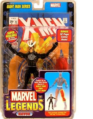 Marvel Legends Exclusive Series Action Figure Havok with Giant Man Builder Piece (Giants Legend Series)