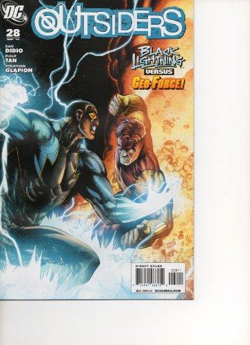 Outsiders #28 (Raven Lightning versus Geo-Force, Vol. 1)