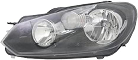 Multiple Manufacturers VW2502145N OE Replacement Volkswagen Jetta Left Composite Headlamp Assembly Partslink Number VW2502145