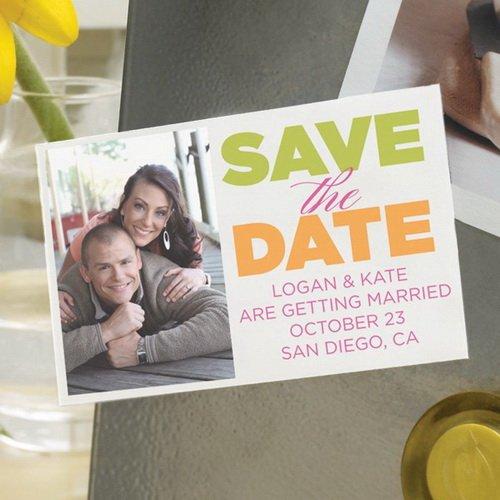 Gartner Printable Save the Date Magnets 30 ct
