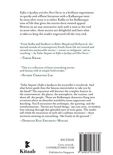 Kafka in Ayodhya and Other Short Stories: Zafar Anjum