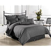 Casa Copenhagen Exotic Collection 800 Thread-Count Egyptian Cotton Duvet Cover Set